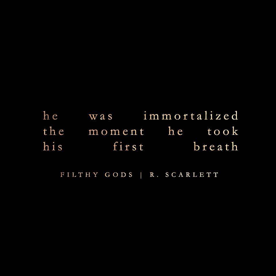 Filthy Gods Teaser Immortalized