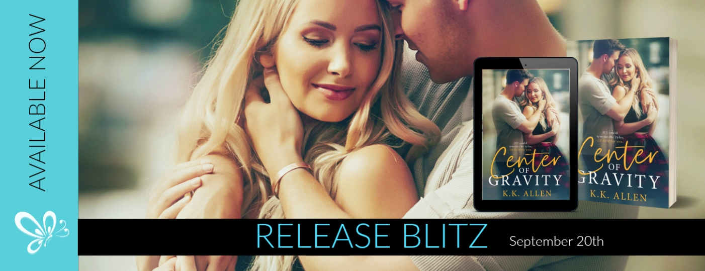 RELEASE BLITZ BANNER CENTER OF GRAVITY
