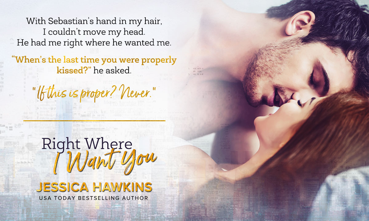 Right Where I Want You Teaser 1