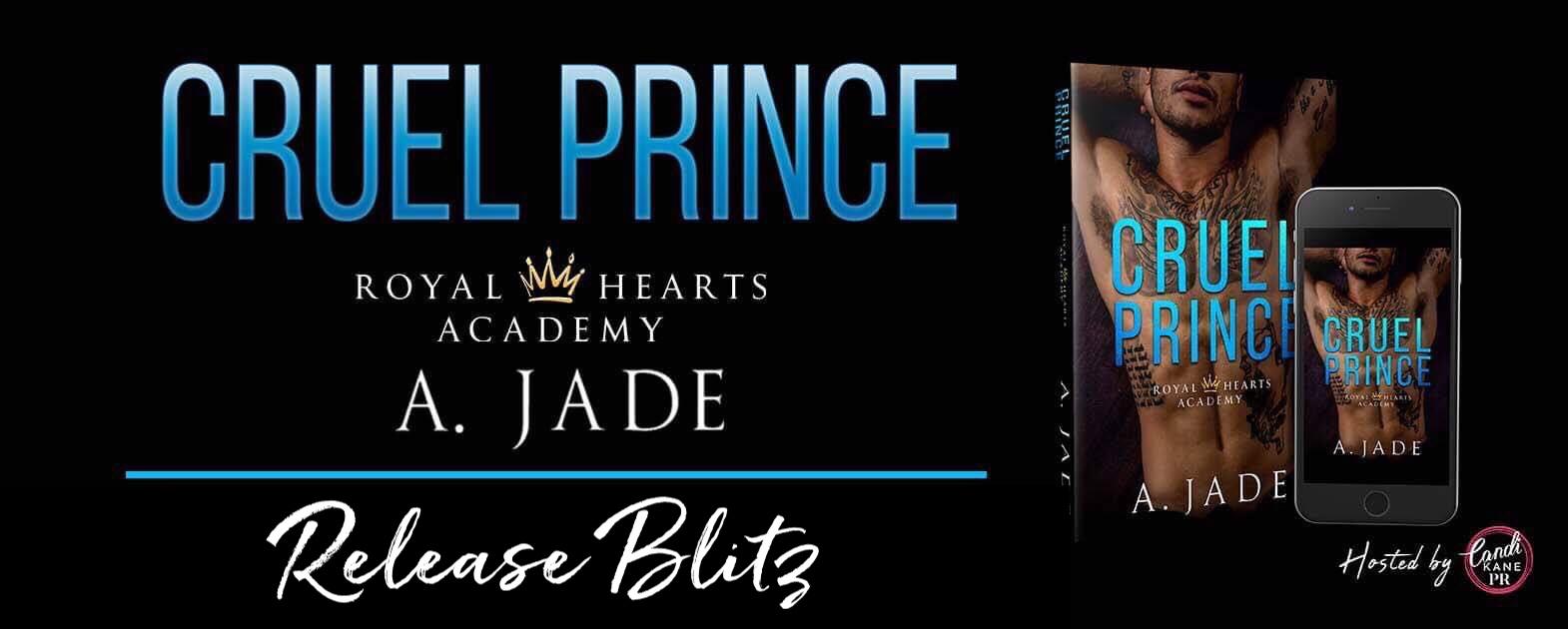 Cruel Prince Release Blitz Banner